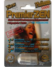 PremierZEN Platinum 5000mg Male Sexual Performance Enhancement