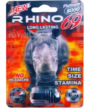 Rhino 25 Titanium 8000mg male enhancement with Maca Root. NO.1 Seller in Asia Now in America