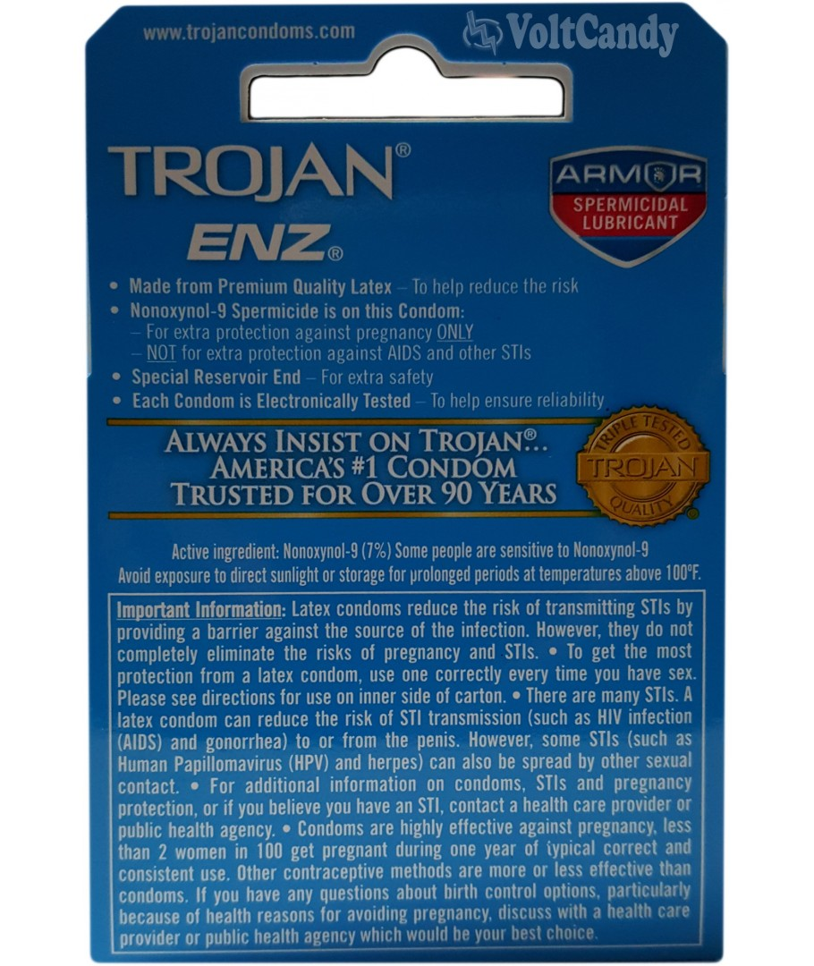 Trojan-Enz Lubricated Condom Review by Total Access Group