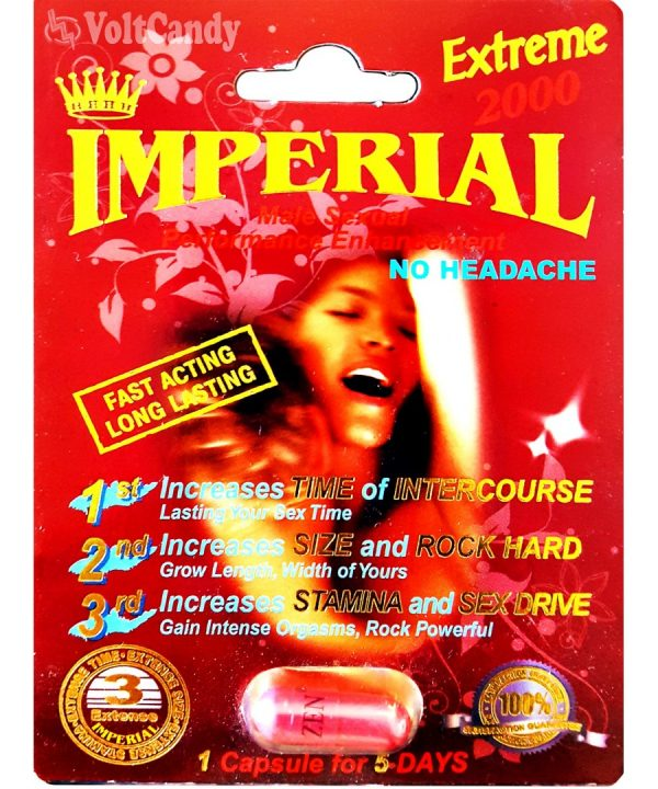 IMPERIAL Gold 2000 Male Sexual Performance Enhancement