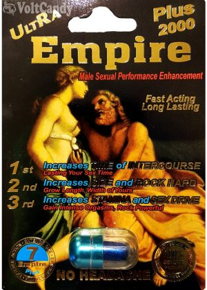 ULTRA EMPIRE PLUS 2000 Male Sexual Performance Enhancement