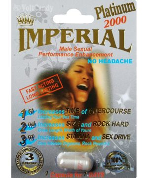 IMPERIAL Plus 2000 Male Sexual Performance Enhancement