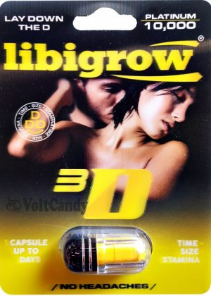 Libigrow platinum 10K 3D Male Sexual Enhancement Formula