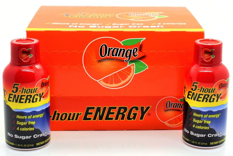 5-hour Energy Orange 1