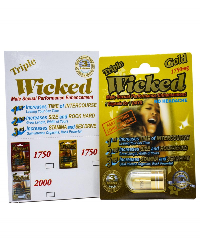 Wicked gold box