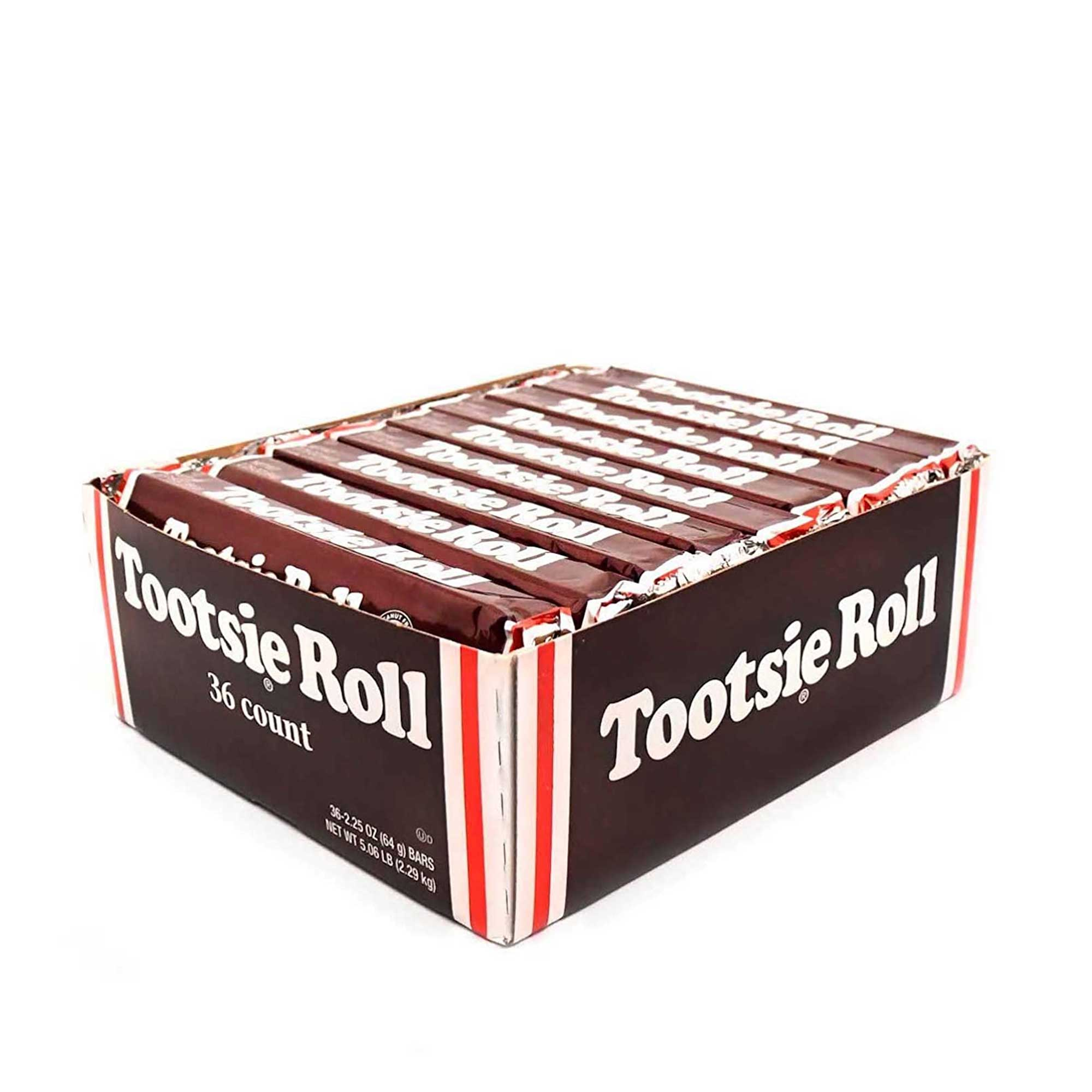 Tootsie Roll Candy Bars Original Classic Size ( 2.25 Ounce ...